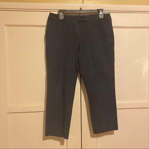 Ann Taylor Factory Petite Curvy Black Trousers 10P